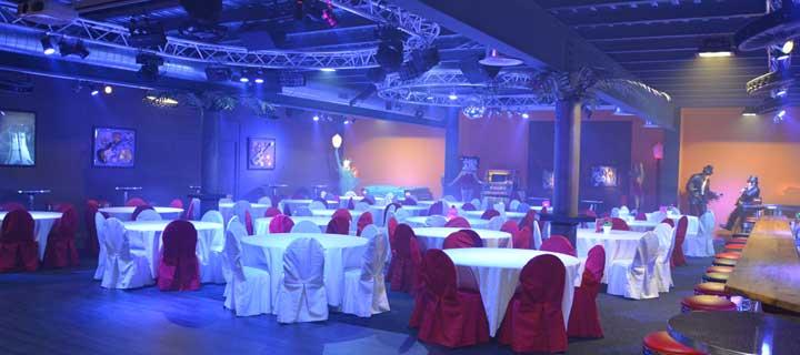 La salle principale - Eventsierre