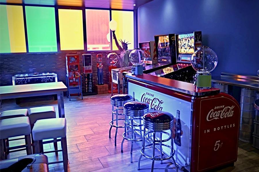 Bar pour souper d'enterprise